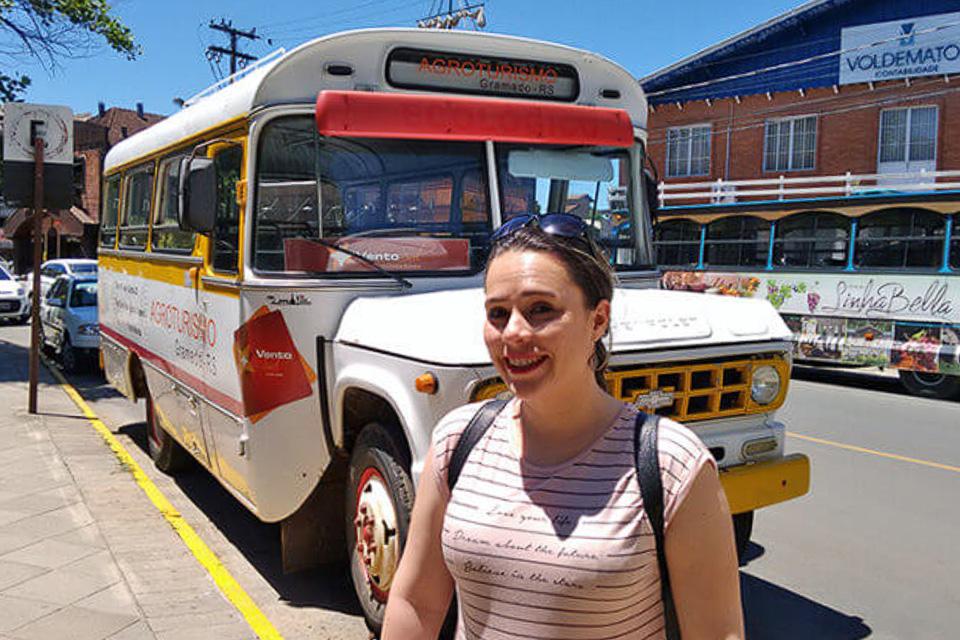Passeio de ônibus em um roteiro de 3 dias em Gramado