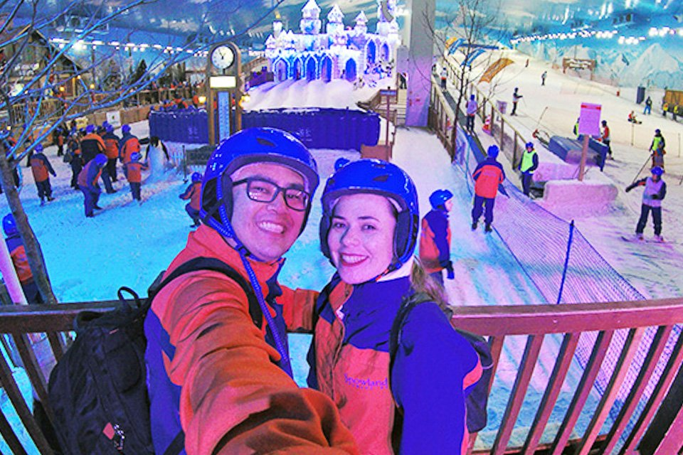 Pista de esqui em Gramado em um Roteiro de 3 dias em Gramado