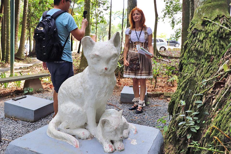Cemitério dos Gatos em Blumenau