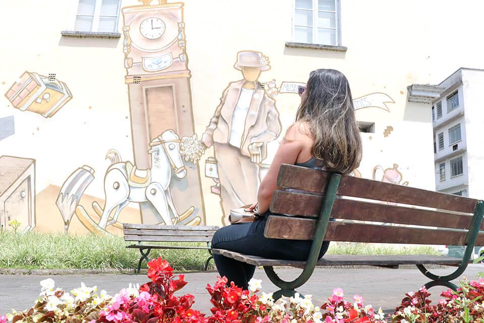 Paredes e jardins de Blumenau