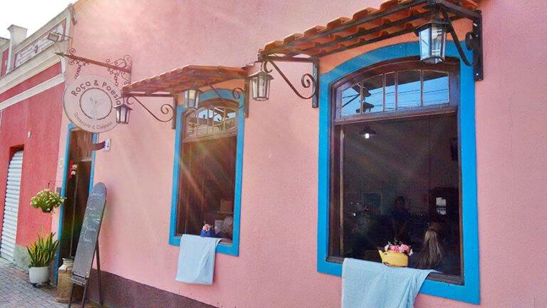 Onde comer em Guararema, Restaurante Roça e Poesia