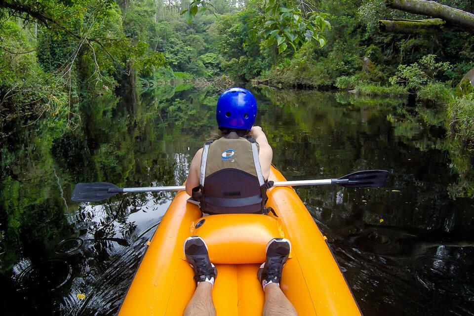 Pura Aventura - canoagem no Rio Itatinga no Parque das Neblinas