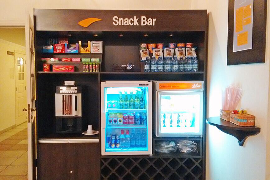 Onde se hospedar em São Roque - Hotel com snack bar 24 horas