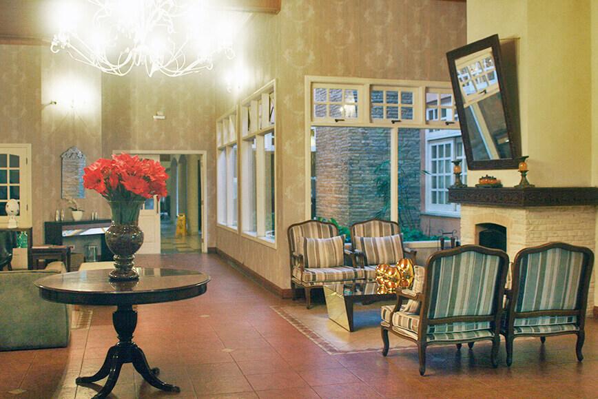 Onde se hospedar em São Roque - Recepção do Hotel Cordialle
