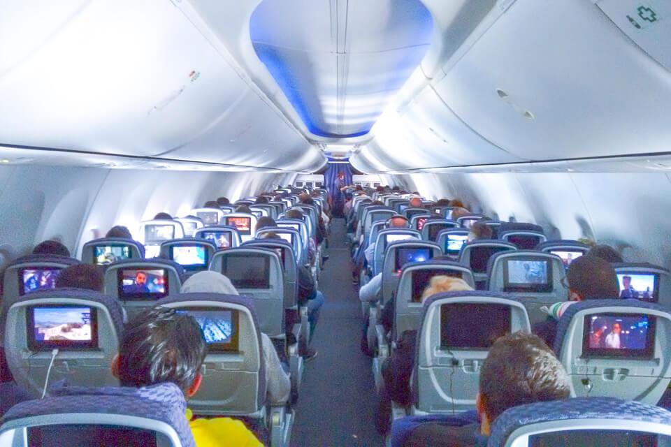 Como é voar Copa Airlines? classe econômica