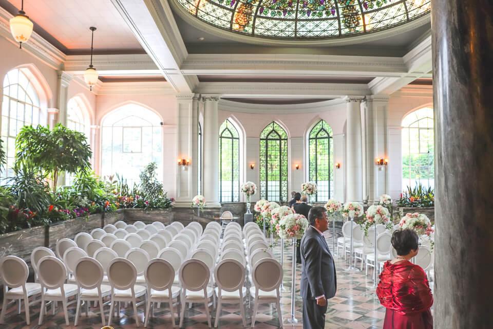 Salão de festas da Casa Loma em Toronto, é possível casar em um castelo