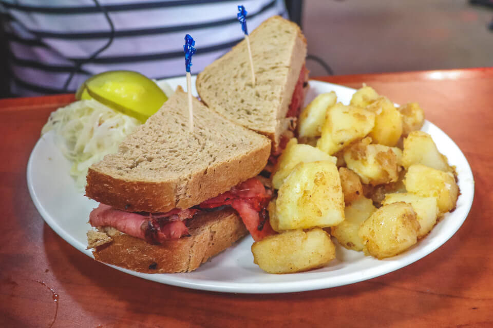 Onde comer em Toronto - Paddington's, St. Lawrence Market