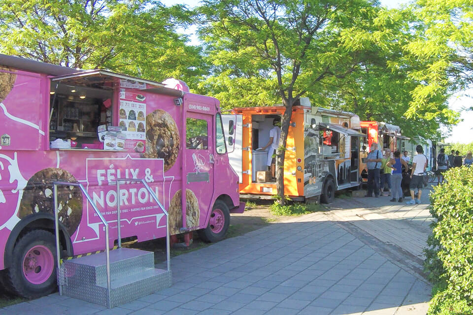 O que ver e fazer em Old Port? Food trucks
