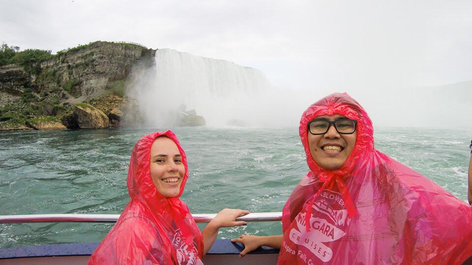 Passeio de barco em Niagara Falls: Hornblower Niagara Cuises
