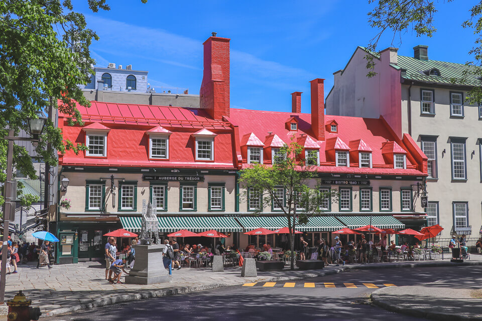 Onde comer em Quebec? Bistro 1640