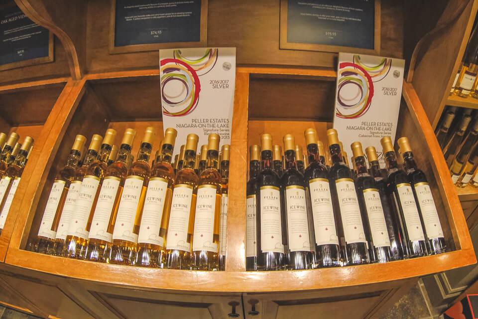Onde comprar vinhos em Niagara? Ice Wine