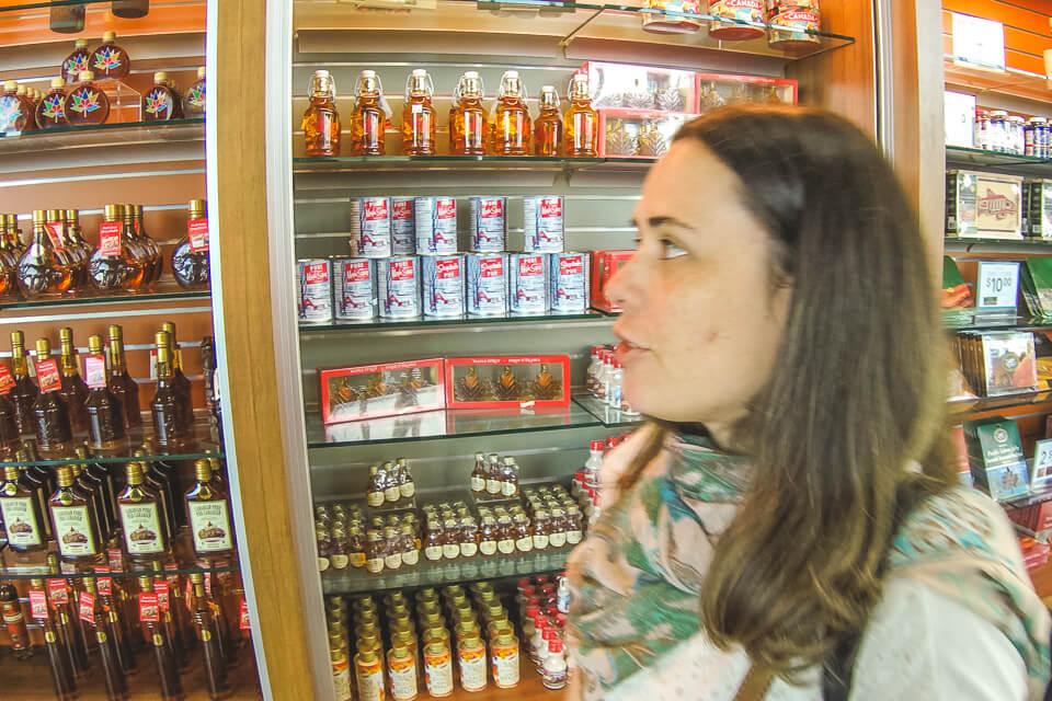 Sabores locais com produtos Maple Syrup é tradicional do Canada
