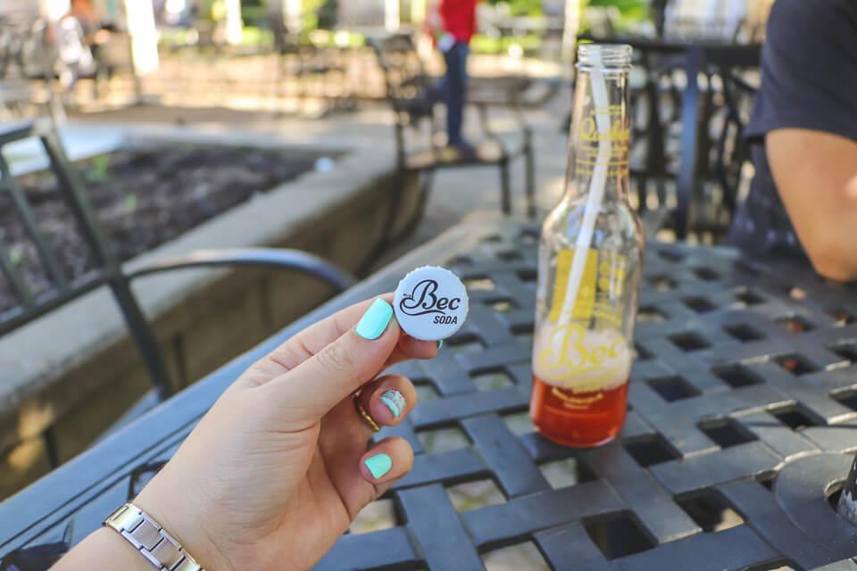 Sabores Locais do Canada tem o refrigerante de Maple Syrup