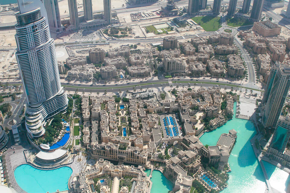 Ver Dubai de cima no At The Top (Burj Khalifa)