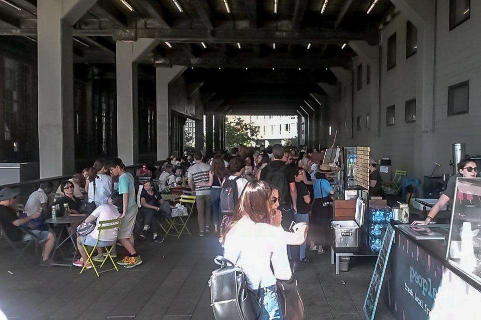 Roteiro em Nova York com almoço no High Line Park