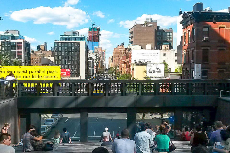 Roteiro de 4 dias em Nova York com mirante do High Line Park
