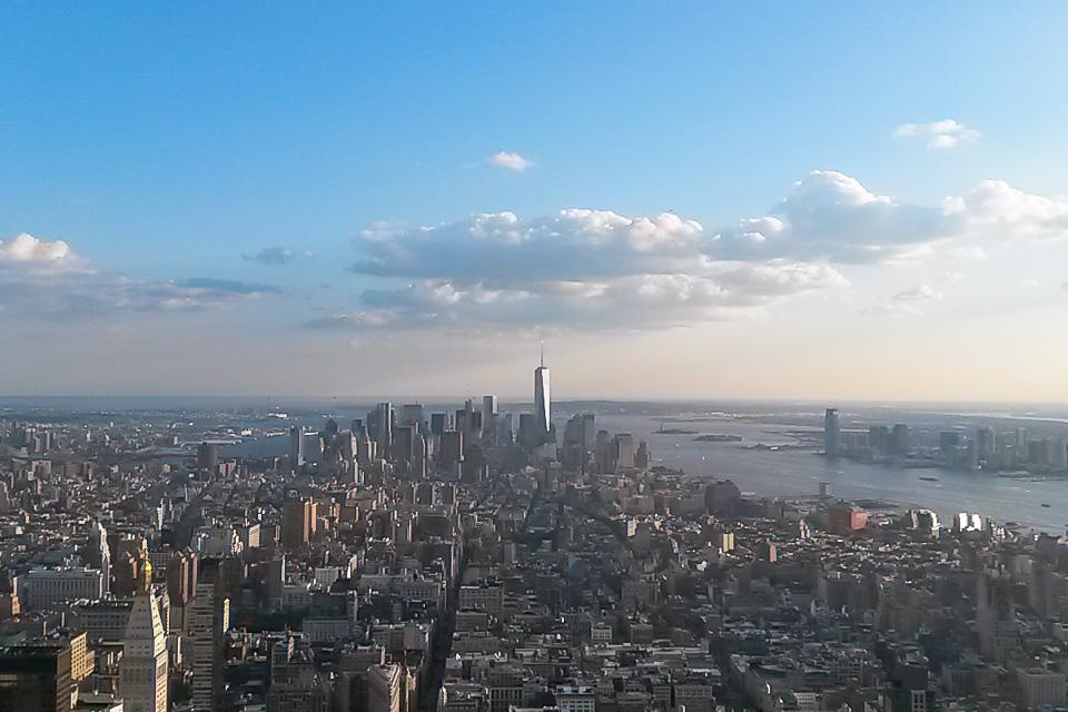 Roteiro em Nova York com Empire State Building