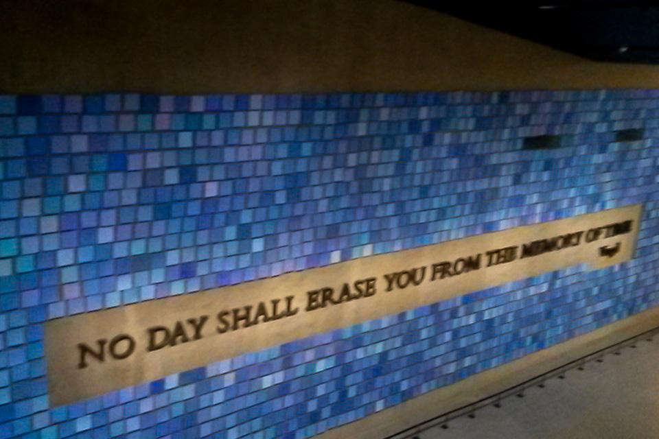 9/11 Memorial & Museum e o Tribute Center é um dos principais lugares para visitar em de Nova York