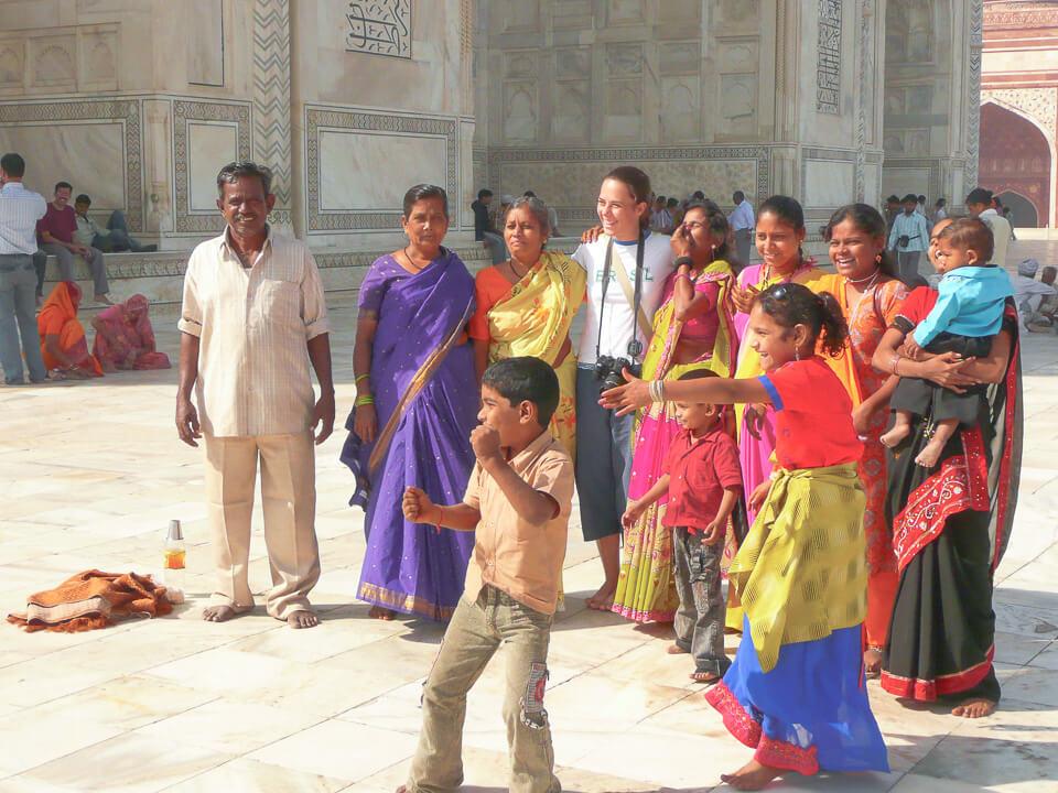 Mochilão na Ásia passando pelo Taj Mahal na Índia