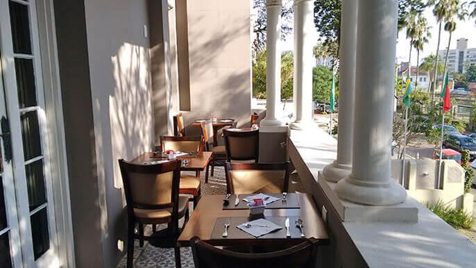 melhor opção de hotel em Porto Alegre