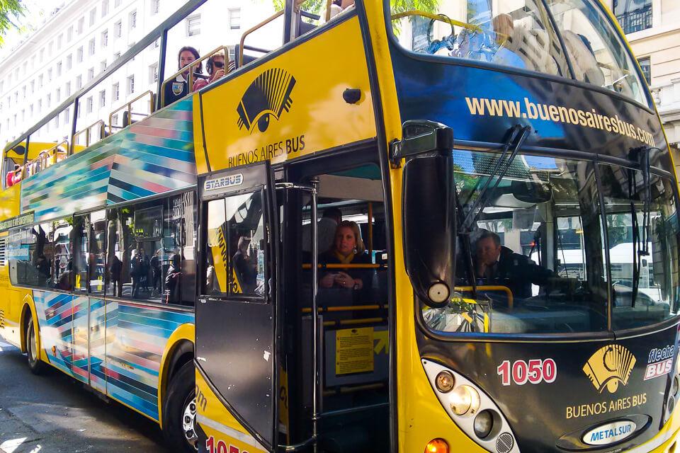 8e4e83f38 Buenos Aires Bus, um city tour panorâmico pela cidade - Me Leva de Leve