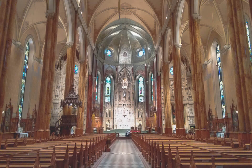 St. Patrick's Basilica, Montreal - Canada