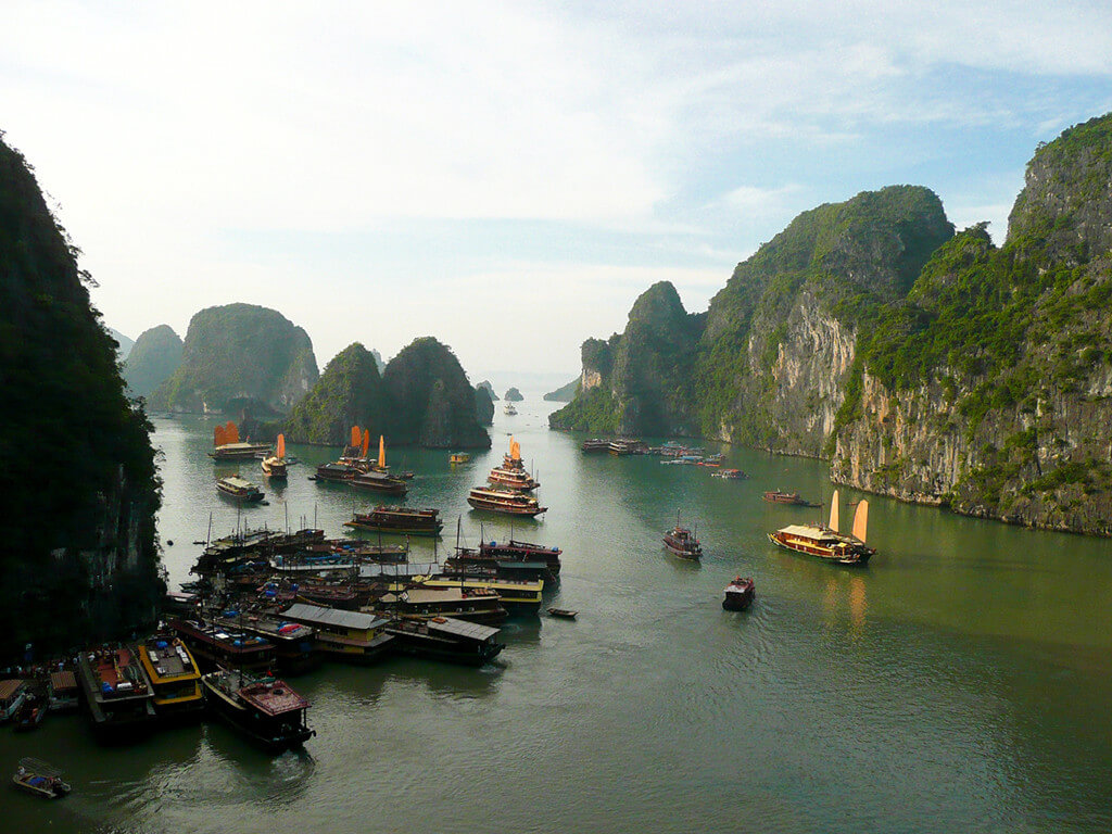 Principais atrativos do Vietna Ha Long Bay